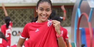 Jika Liga 1 Putri Lanjut, Pesepak Bola Cantik ini Mau Tetap di Persija