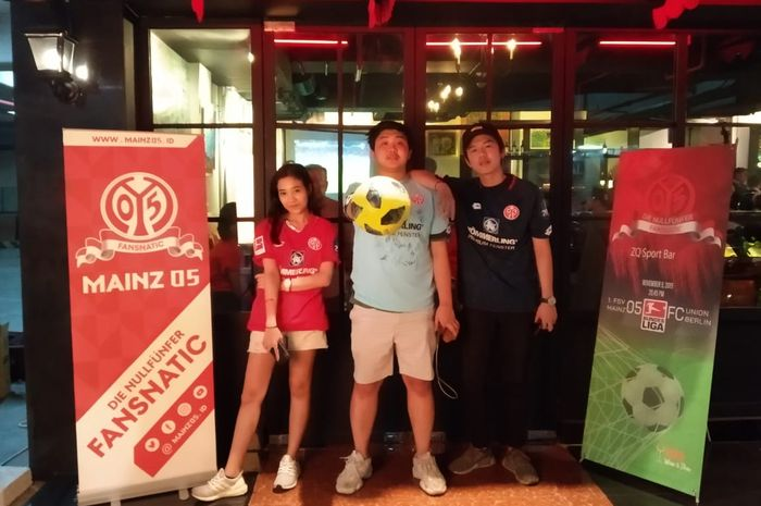 Fansnatic , komintas suporter Mainz 05 di Indonesia.