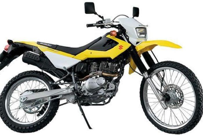 Suzuki DR200S dibuat khusus untuk Kepolisian Republik Indonesia