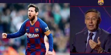 Presiden Barcelona Mundur, Berharap Lionel Messi dkk Mau Potong Gaji