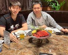 Olimpiade Tokyo 2020 - Bak Keluarga, Interaksi Manis Hendra Setiawan dan Ganda Putra China Kembali Terlihat