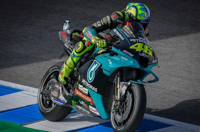 Hanya mampu meraih posisi ke-17 usai terpuruk di kualifikasi MotoGP Spanyol 2021, Valentino Rossi masih belum menyerah?