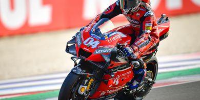 Klasemen MotoGP - Dovizioso Masih Selamat dari Terkaman Quartararo