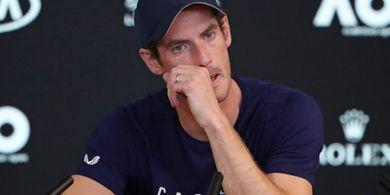 Masih Trauma, Andy Murray Belum Mau Kembali Bermain di Sektor Tunggal