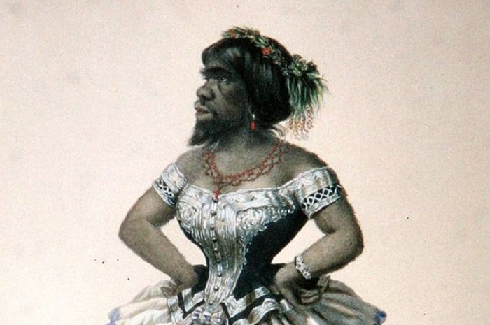 Lukisan Julia Pastrana
