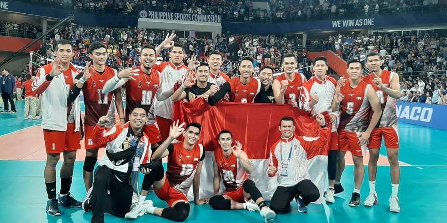 SEA Games 2019 - Alasan Pebola Voli Putra Indonesia Lakukan Selebrasi yang Memancing Kontroversi