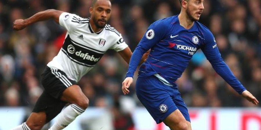 Tak Cetak Gol buat Chelsea, Hazard Samai Rekor Drogba dan Lampard