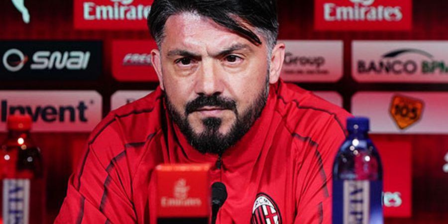 Hormati Kontrak di Milan, Gattuso Tepis Spekulasi Latih AS Roma
