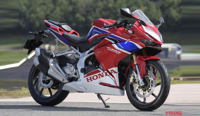 Honda CBR250RR dengan warna khas Honda