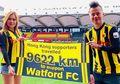 Tempuh Jarak 9.622 Km, Wanita Cantik Ini Dapat Hadiah Menarik dari Kapten Watford