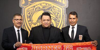 Tim Pelatih Borneo FC Targetkan Kondisi Fisik Para Pemain Membaik