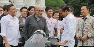Presiden Joko Widodo Dorong ITDC Juga Gelar Balapan F1 di Mandalika