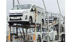 Terciduk Toyota Hiace Sedang Digendong, Aura Alphard Terpancar?