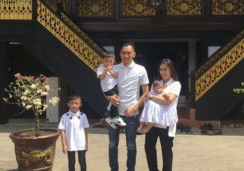 Aliya Rajasa Mudik Ke Palembang, Rumah Adat Mewahnya Jadi Sorotan