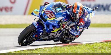 Tes Pramusim MotoGP 2020 Qatar - Aksi Nekat Alex Rins Berbuah Waktu Lap Tercepat