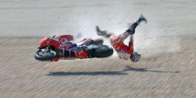 Kecelakaan Horor MotoGP Portugal 2021 Sempat Bikin Marc Marquez Keder