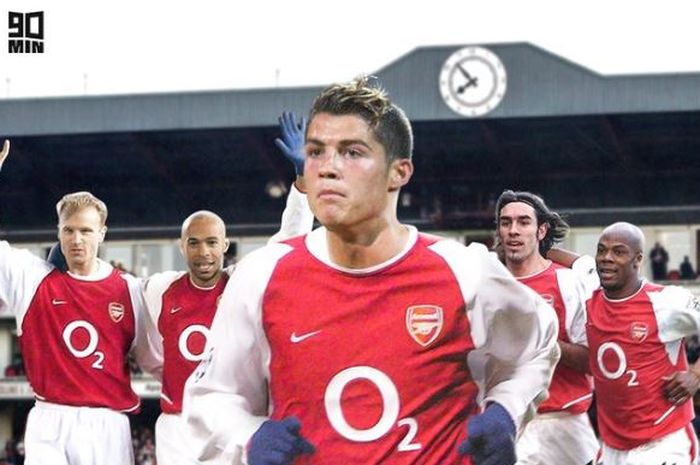 Pelatih legendaris Arsenal, Arsene Wenger, meyakini The Gunners bisa mencetak 200 gol dalam semusim bersama Cristiano Ronaldo.