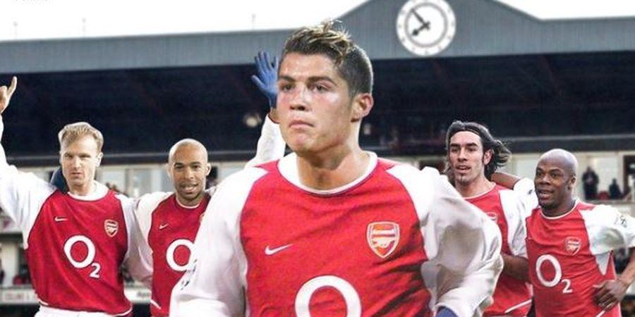 Jika Ronaldo Gabung Arsenal Mungkin Tidak Akan Ada CR7 Karena Nomor Punggung yang Dipilih