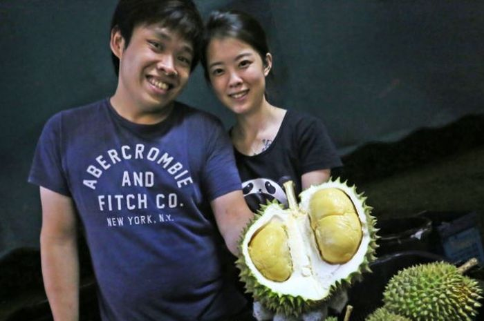 Melvin Ha dan Wei  Zhixin