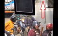Polisi Mendekat, Gerombolan Pemotor Langsung Keringet Jagung Terhadang TransJakarta