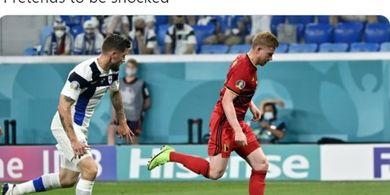 Man of the Match EURO 2020 - Kevin De Bruyne, Sosok Penting Lini Tengah Belgia untuk Raih Kemenangan