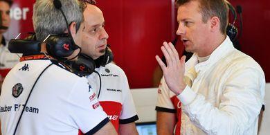 Kimi Raikkonen Mengaku Puas dengan Kinerja Tim Alfa Romeo Musim Ini