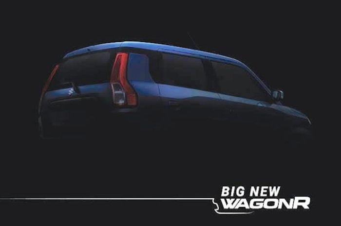 Teaser dari Suzuki Wagon R baru