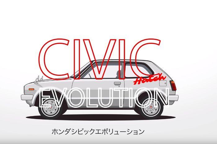 Honda Civic hatchback generasi pertama