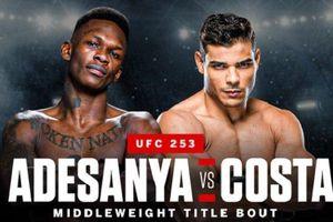 UFC 253 - Israel Adesanya Sebut Paulo Costa Anjing Tanpa Nyali dan Tertawa seperti Perempuan