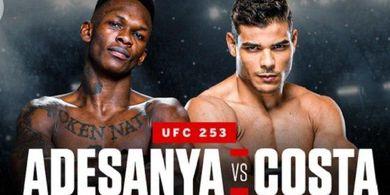 VIDEO - Paulo Costa Lempar Sabuk Putih ke Israel Adesanya Jelang UFC 253