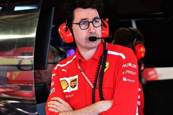 Kepala tim Ferrari, Mattia Binotto