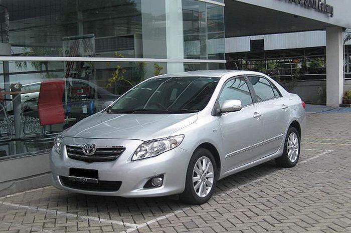 Corolla Altis generasi kedua hadir sejak 2008