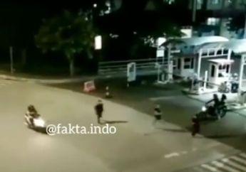 Kawasan Bintaro Mencekam, Video Anggota TNI dan Brimob Bubarkan Ormas, Pemotor Kocar-kacir