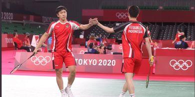 Olimpiade Tokyo 2020 - Ini Penyebab Marcus/Kevin Gagal Sempurnakan Fase Grup