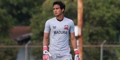 Kiper Madura United Bicara Soal Pentingnya Pendidikan Bagi Atlet