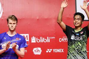 Thailand Open 2021 -Perang 81 Menit Anders Antonsen Tanpa Sengaja Menyelamatkan Anthony Ginting