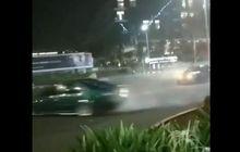 Viral Aksi Drifting Dua Sedan di Pondok Indah, Polisi Selidiki Video