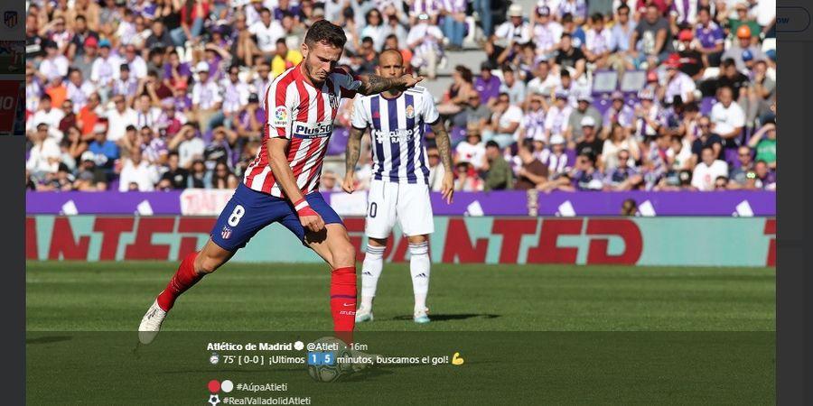 Hasil Liga Spanyol - Diwarnai Gagal Penalti, Atletico Madrid Hanya Raih Seri
