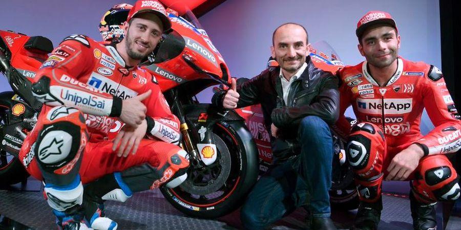 CEO Ducati Ungkap Peran Penting Andrea Dovizioso untuk Danilo Petrucci