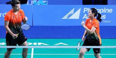 Hasil Bulu Tangkis SEA Games 2019- Tersisih, Rinov/Pitha Gagal Wujudkan All Indonesian Finals