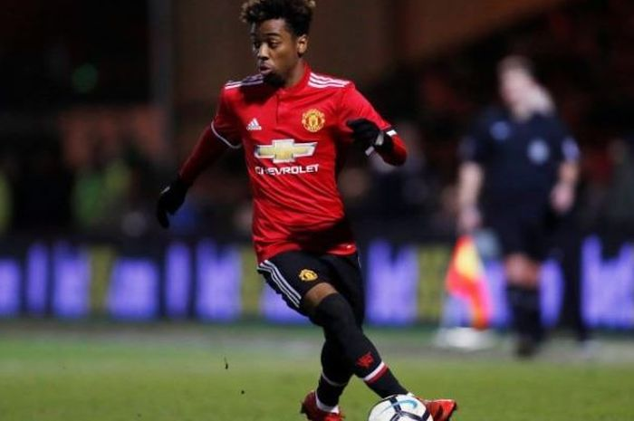 Pemain muda Manchester United, Angel Gomes