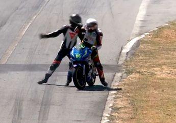 Kirain Di Indonesia, Video Pembalap Motor Kejadian di Mancanegara