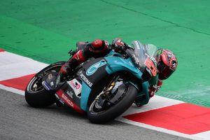 Hasil MotoGP Catalunya 2020 - Quartararo Juara, Valentino Rossi Crash