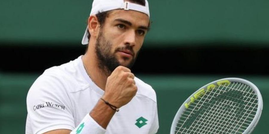 Wimbledon 2021 - Maju ke Final, Matteo Berrettini Ukir Sejarah