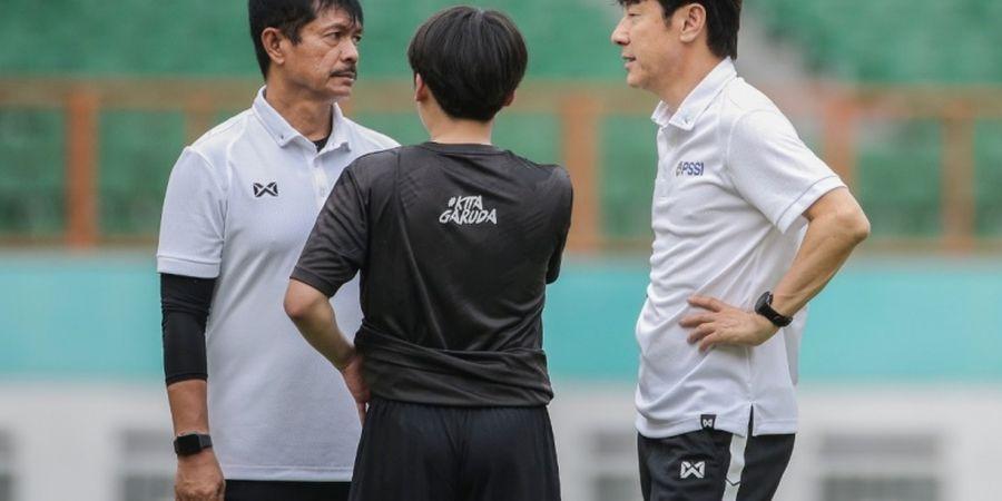 Shin Tae-yong Heran Indra Sjafri Tiba-tiba Jadi Dirtek PSSI Meski Lakukan Indisipliner