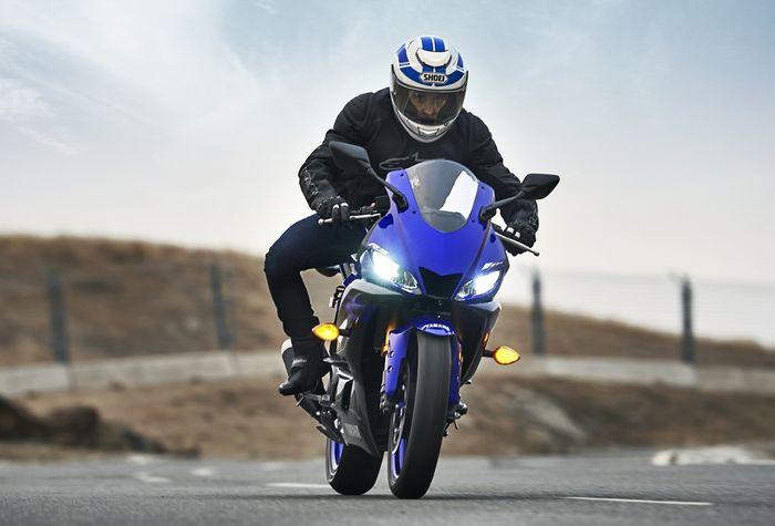 Yamaha R3 punya desain yang sama dengan R25