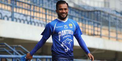 Zulham Zamrun Ingin Meraih Sukses Bersama Persib Bandung Musim Ini