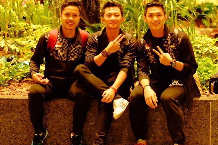 tipe wanita tiga atlet badminton tunggal putra Indonesia
