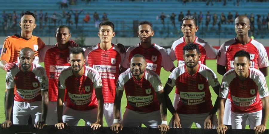 Tumbangkan Madura United, Persipura Jayapura Raih Kemenangan Pertama