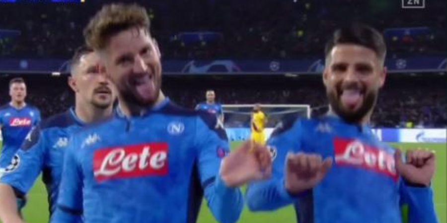 Cetak Gol yang Bikin Kiper Barcelona Diam, Dries Mertens Top Scorer Sepanjang Masa Napoli